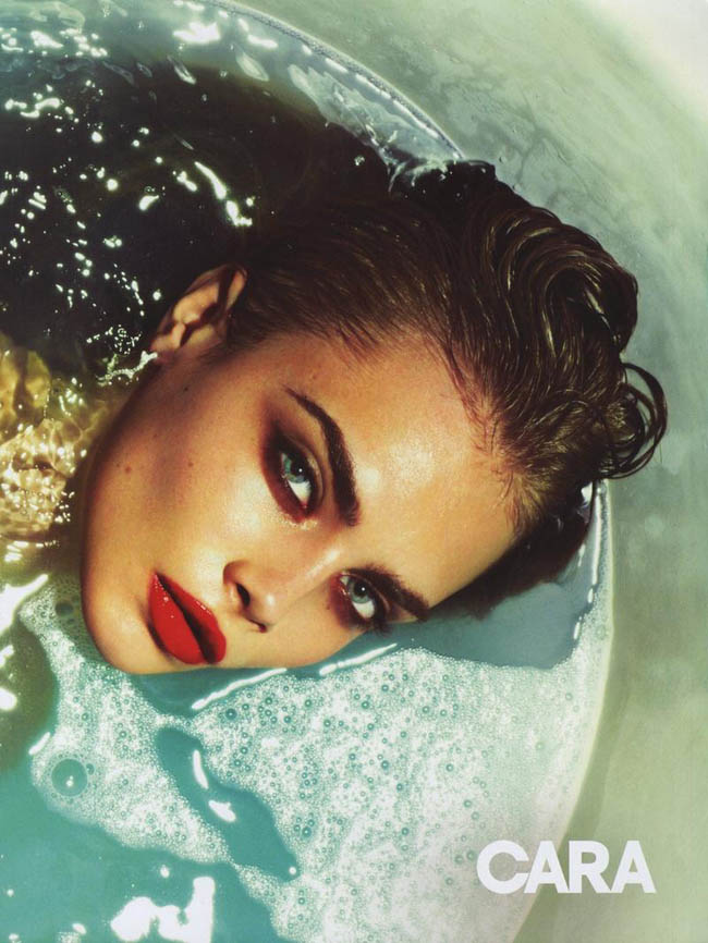 010 cara delevingne foto mert Alas and Marcus Piggott for LOve ss13.