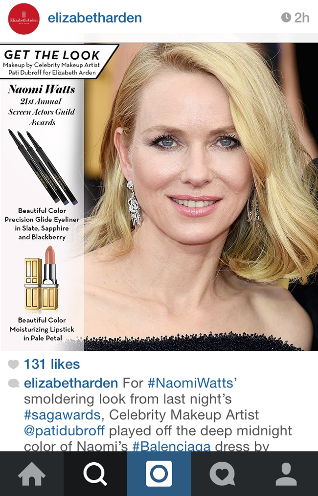 naomi watts long bob corte