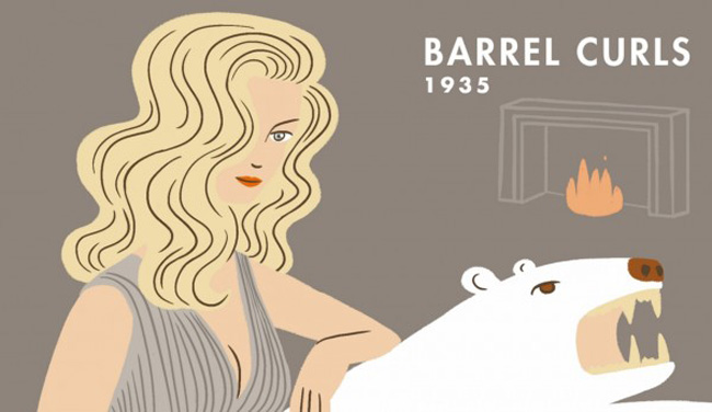 An Animated History Of 20th Century Hairstyles 3