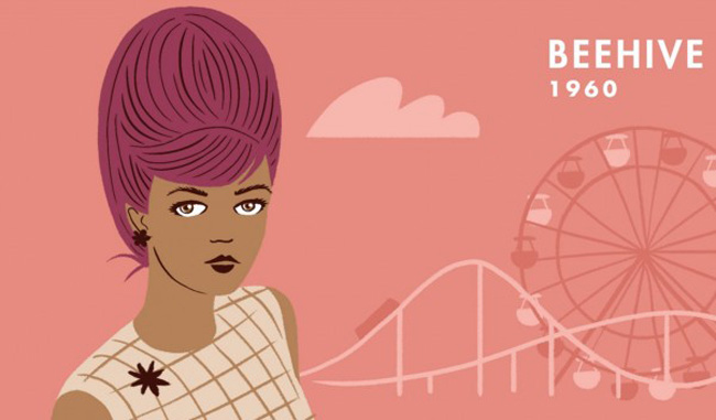 An Animated History Of 20th Century Hairstyles5