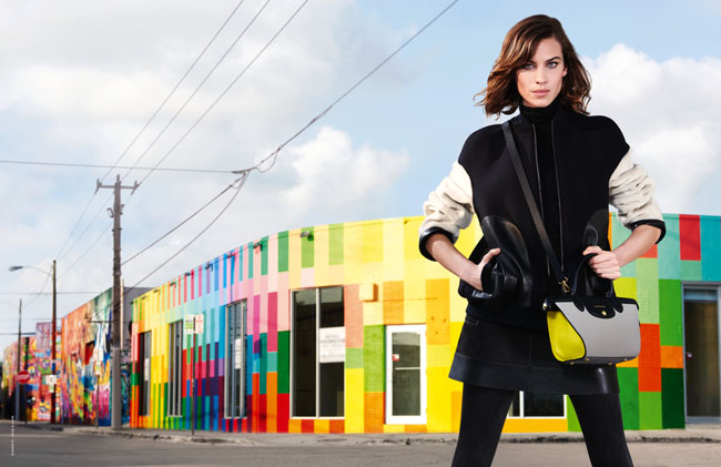 alexa chung longchamp campanha 2015 Wynwood District
