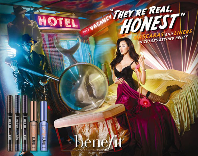 making-of-theyre-real-benefit david lachapelle